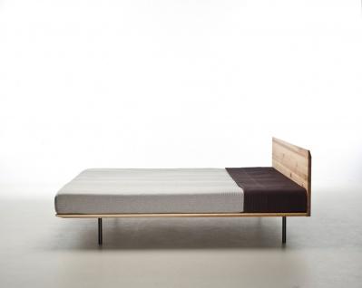 Mazzivo ® OUTLET SALE -35% Designerbett Schwebebett Massivholz MODO Erle 180/200 - Vorschau 2