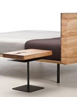 Mazzivo ® OUTLET SALE -35% Designerbett Schwebebett Massivholz MODO Erle 180/200 - Vorschau 3
