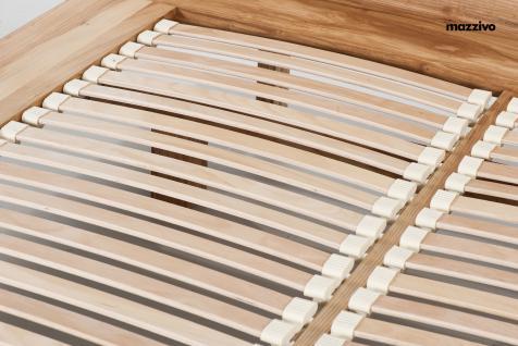 Mazzivo ® OUTLET SALE -35% Designerbett Schwebebett Massivholz NOBBY Erle 140/200 - Vorschau 5