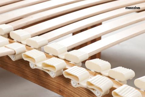 Mazzivo ® OUTLET SALE -35% Designerbett Doppelbett Massivholz LUGO Erle 200/220 Überlänge - Vorschau 5