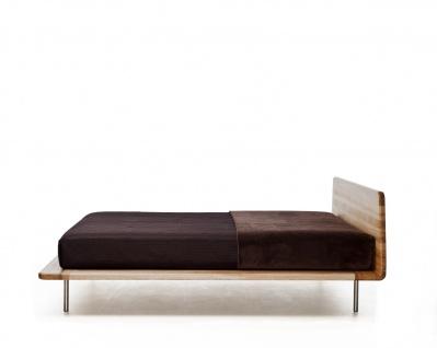 Mazzivo ® OUTLET SALE -35% Designerbett Schwebebett Massivholz LETTO Erle 160/200 - Vorschau 2