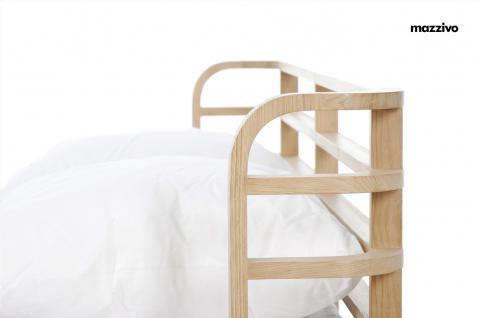 Mazzivo ® OUTLET SALE -35% Designerbett Doppelbett Massivholz BOW Erle 120/200 - Vorschau 2