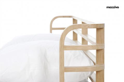 Mazzivo ® OUTLET SALE -35% Designerbett Doppelbett Massivholz BOW Erle 180/200 - Vorschau 2