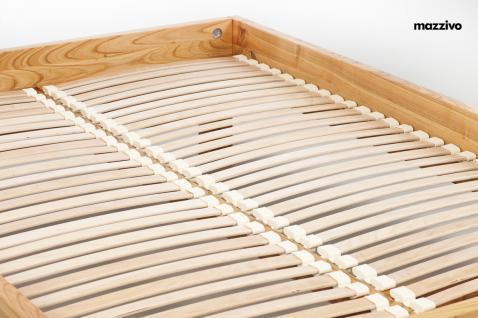 Mazzivo ® OUTLET SALE -35% Designerbett Doppelbett Massivholz BOW Erle 120/200 - Vorschau 5