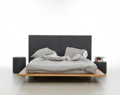 Mazzivo ® OUTLET SALE -35% Designerbett Schwebebett Massivholz MOOD 2.0 Erle 160/200 - Vorschau 4