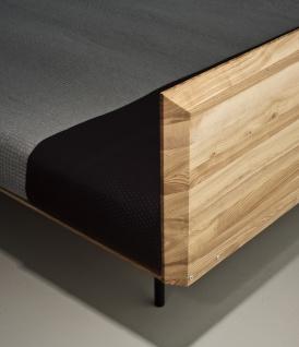 Mazzivo ® OUTLET SALE -35% Designerbett Schwebebett Massivholz MODO Erle 180/200 - Vorschau 4