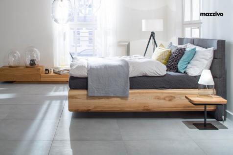 Mazzivo ® OUTLET SALE -35% Designerbett Polsterkopfteil Massivholz BOXSPRING Erle 200/210 Überlänge - Vorschau 3