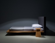 Mazzivo ® OUTLET SALE -35% Designerbett Schwebebett Massivholz MOOD 2.0 Erle 200/220