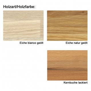 Standard Furniture Sitzbank Stockholm mit Truhe und Stauraum Gestell bzw. Holzart und Bezugsfarbe wählbar - Vorschau 3