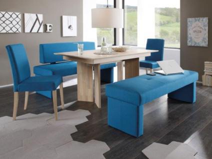 Standard Furniture Polsterbank Domino mit Stoffbezug Eckbank Bank für Esszimmer und Küche im Bezug Grand Farbe Größe und Ausführung wählbar - Vorschau 3