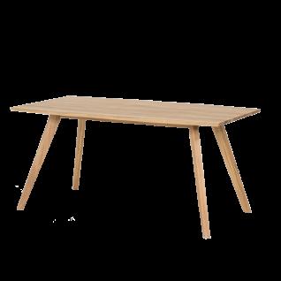 Standard Furniture Factory Holztisch Trondheim ca. 180x 90 cm in Eiche geölt Massivholz rechteckig für Esszimmer und Küche