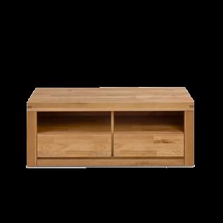 Elfo-Möbel Delft TV-Kommode 6212 mit 2 Schubkästen und 2 offenen Fächern TV-Unterschrank mit viel Stauraum für Ihr Wohnzimmer