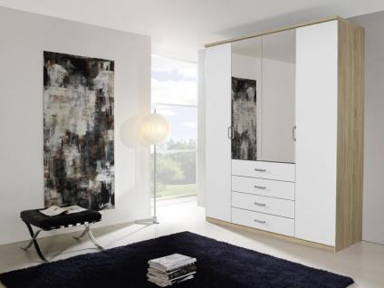 Rauch Select Elan Dreh- / Falttürenkombischrank mit Spiegel Front A Kleiderschrank Schlafzimmer Größe und Ausführung wählbar