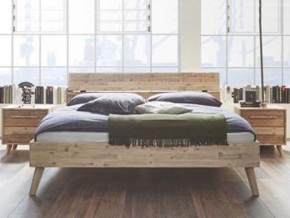 Hasena Bett Factory-Chic Bettrahmen Fremo 18 inkl. Kopfteil Arcada und Füße Masi Liegefläche 180 x 200 cm Nachttische wählbar