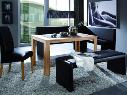 Standard Furniture Polsterbank Berlin Eckbank oder Einzelbank Polsterbank für Esszimmer und Küche Bank im Bezug Elektra und Ausführung wählbar - Vorschau 3