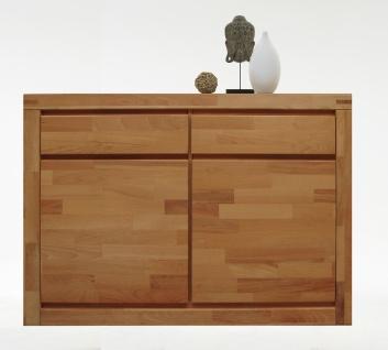 ELFO Kommode DELFT mit 2 Türen und 2 Schubkästen, Beimöbel Massivholz, Schlafzimmeranrichte Art. Nr. 6244, viel Stauraum für Ihr Schlafzimmer oder Wohnzimmer