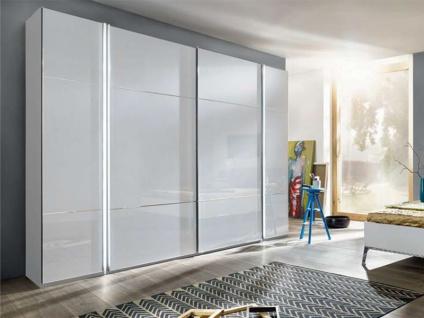 Nolte Marcato Drehtürenschrank und Schwebetürschrankkombination Kleiderschrank Ausführung 3 Korpus, Glasfront wählbar