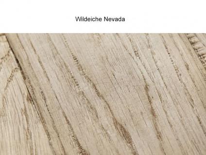 Bodahl Woodstock Timber Anrichte 10587 wild oak Massivholz Kommode mit drei Schubkästen und vier Türen für Wohnzimmer und Esszimmer Holzausführung wählbar - Vorschau 4