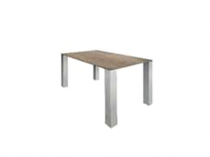 MWA Aktuell Esstisch Nova 1 mit Vierfußgestell Tisch für Esszimmer oder Küche Gestell Gestellfarbe Tischplattenausführung und Größe wählbar