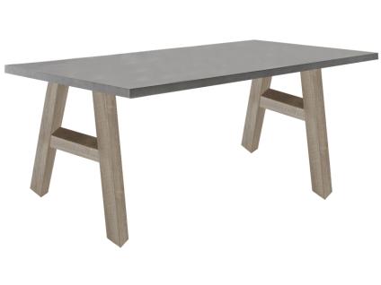 Mäusbacher Mister Office Schreibtisch mit wählbarer Gestellform Tischplattengröße und mit wählbarem Dekor für Tischplatte und Gestell Schreibtisch für Ihr Arbeitszimmer Büro oder Homeoffice