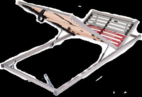 Schlaraffia Classic 28 Gasfeder Lattenrost der Kollektion Classic Unterfederung verstellbar mit aufklappbaren Fußteil in verschiedenen Größen
