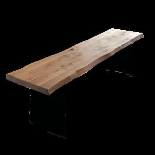 Niehoff Design-Baumbank Tree-Top 3587 aus Massivholz mit wählbarer Größe und Gestell ideal für Ihr Esszimmer