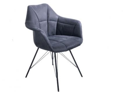 K+W silaxx 6257 Stuhl AB Sessel mit 4-Fuss-Gestell Bezug Stoff oder Leder wählbar