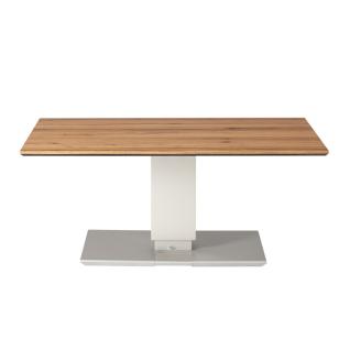 Eve collection Couchtisch Trentino II Deluxe mit Höhenverstellung mit Fußauslöser Wohnzimemrtisch mit furnierter Holzplatte und wählbarer Größe und Ausführung für Ihr Wohnzimmer