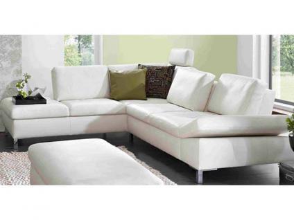 K+W Möbel Dive 7474 Sofaecke und Anbauelement Ecksofa Sofagarnitur Sofa Polstergarnitur Polsterecke Couch für Wohnzimmer Sofa in Bezug Stoff oder Leder wählbar