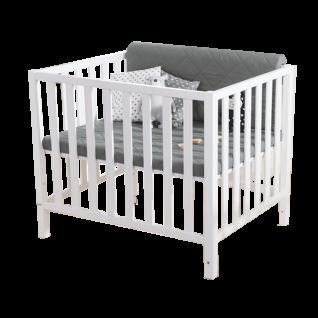 Paidi Scotty Laufgitter für Babys und Kleinkinder 70x90 cm aus Buche in verschiedenen Dekoren wählbar Zusatzausstattung optional dazu wählbar