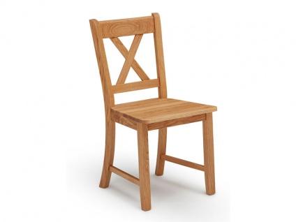 Schösswender Königsee Stuhl in Wildeiche geölt Holzstuhl mit Massivholz für Ihr Esszimmer