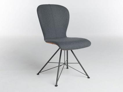 Stuhl 613C Blake Spin Komfort von Bert Plantagie mit Bi-Color-Mattenpolsterung für Esszimmer Esszimmerstuhl Gestellausführung und Bezug wählbar