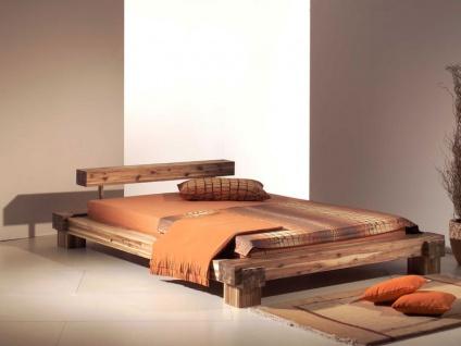 Bett akazie g nstig sicher kaufen bei yatego for Jugendzimmer mit doppelbett