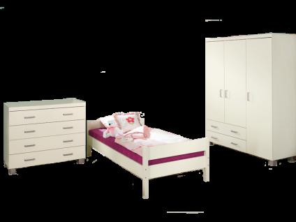 paidi biancomo jugendzimmer 3 teilig kleiderschrank 3. Black Bedroom Furniture Sets. Home Design Ideas