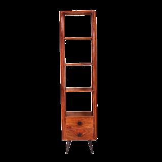 Sit Möbel KNOB Bücherregal mit offenen Fächern aus Sheesham Holz