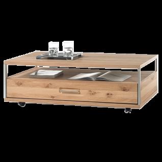 MCA Furniture Espero Couchtisch ESP11T65 in Asteiche Bianco furniert geölt für Ihr Wohnzimmer