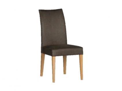 Dkk Klose Stuhl S41 Marshmallow Polsterstuhl 951 für Wohnzimmer oder Esszimmer in vier Polstervarianten Gestell aus Massivholz in verschiedenen Holzausführungen Bezug Leder oder Stoff in großer Auswahl erhältlich