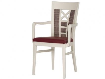 DKK Klose Sessel 30408 zweifarbig für Wohnzimmer und Esszimmer Bezug in vielen Stoffen und Echtleder, Sitzkomfort wählbar