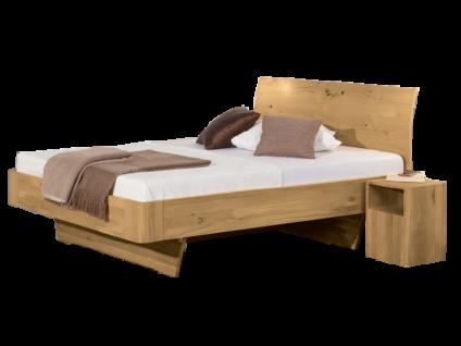 Neue Modular Primolar Bett Asti Plus mit Kopfteil Calabro und Wangenfüssen Novara Liegefläche ca. 180x200 cm optional mit Hocker