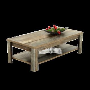 Innostyle Couchtisch BONANZA 29 D0 DD 02 in Driftwood Nachbildung mit Holzboden für Ihr Wohnzimmer