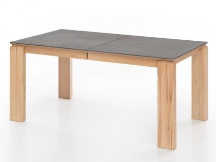 Standard Furniture Factory Malaga XL Esstisch mit Mittelauszug und Butterfly-Einlage Tischplatten Dekton in 5 Ausführungen erhältlich Tisch für Esszimmer