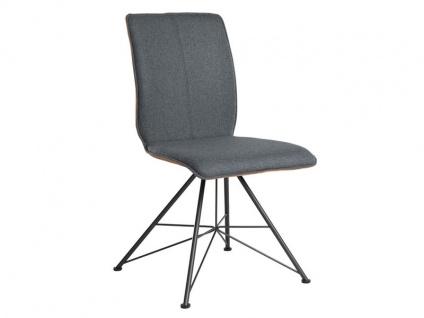 Bert Plantagie Stuhl Tara 813 Spin Bi-Color-Polsterung (zweifarbig) Polsterstuhl für Esszimmer Esszimmerstuhl Gestellausführung und Bezug in Leder oder Stoff wählbar
