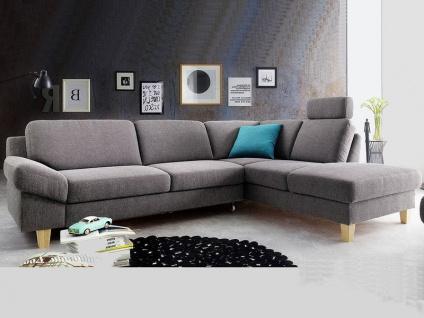 Candy Ecksofa Sofa Filo für Wohnzimmer Bezug Stoff oder Leder wählbar