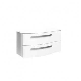 Pelipal 4030 Waschtischunterschrank für Ihr Badezimmer Front & Korpus in Weiß Hochglanz