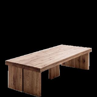 MCA Furniture Tisch Dublin 300 in Eiche Massivholz lackiert und wählbarer Ausführung ideal für Ihr Wohnzimmer oder Esszimmer