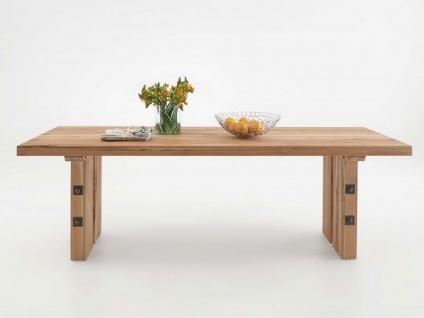 Bodahl Odin Esstisch rustic oak Massivholz Tisch ca. 110 cm breit Speisezimmertisch in sieben Längen und sieben Ausführungen wählbar