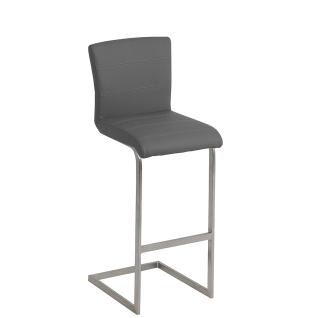 MWA Aktuell Barhocker Milano Sitzschale T ohne Kontrastnaht Gestell und Bezug wählbar