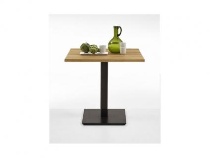 Bodahl Nizza Küchentisch 11252 rustic oak Massivholz Speisezimmertisch ca. 80 x 80 cm in sieben Ausführungen wählbar