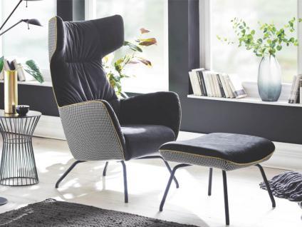 Candy Sessel Mixed Variante B in vielen farbenfrohen Stoff- und Echtlederbezügen erhältlich