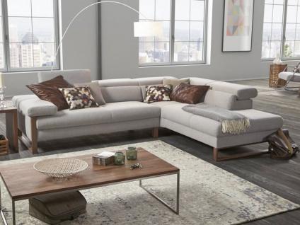 Schillig Willi Ecksofa Finn 20974 Sofa 2 mit motorisch ausfahrbarer Liegefläche gegen Aufpreis wählbar + Abschlußelement Seitenteilgestell und flexible Kopfteilverstellung wählbar für ihr Wohnzimmer in Stoff oder Leder